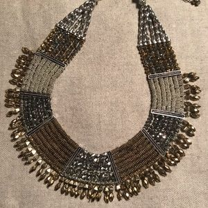 Jewelry - Silver and gold tone necklace